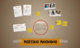 ASESINO ANONIMO