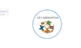 LEY ASOCIATIVA