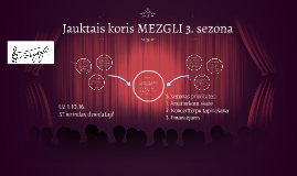 Jauktais koris MEZGLI 3. sezona