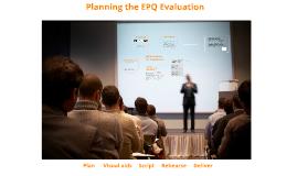 EPQ - Presentation