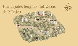 El Náhuatl es la lengua indígena con más hablantes en México