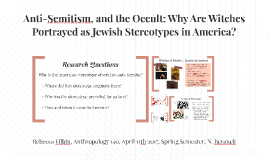 Anti-Semitism and the Occult in America