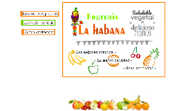 FRUTERIA LA HABANA