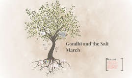 Gandhi and the Salt March