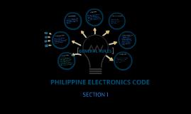 Copy of PHILIPPINE ELECTRONICS CODE