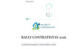 RALLY CONTRATISTAS 2016