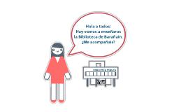 Biblioteca de Barañain (presentación escolares)