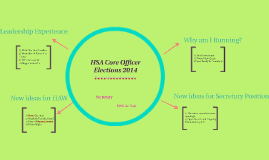 HSA Core Officer Elections
