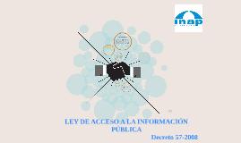Ley de Acceso a la Informacion