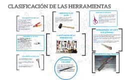 CLASIFICACIÓN DE LAS HERRAMIENTAS