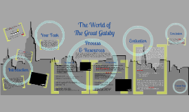 The Great Gatsby, Introductory Webquest and Ad Campaign