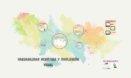 Variabilidad Genética y Evolución Viral