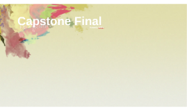 Capstone Final