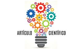 ¿Cómo escribir un artículo científico?