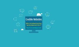Copy of Credible Websites