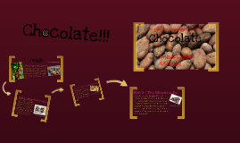 Copy of Food and the Columbian Exchange: Chocolate