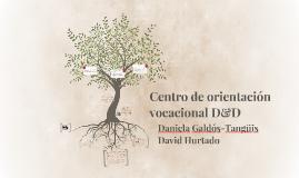 Centro de orientación vocacional D&D