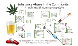 Substance Abuse in the Community: