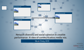 Network diversity and social cohesion in creative performanc