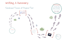 Copy of Writing a summary