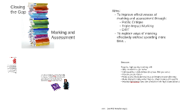 Copy of Closing the Gap Marking