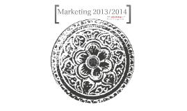 Marketing 2013/2014