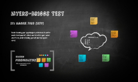 Myers-Briggs Test