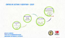 Copy of Centro de Escritura- Asesorías 2014-3