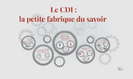 Le CDI :