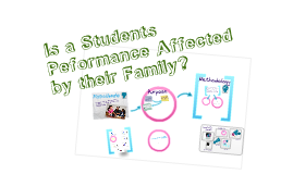 Is an Individuals Performance Affected by their Family?
