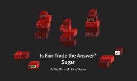 Sugar Fair Trade