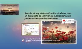 Recolección y sistematización de datos para un protocolo de