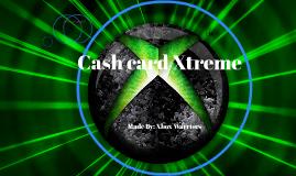 Cash card Xtreme