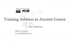 Training Greek Athletes