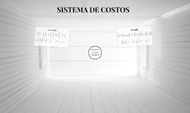 PRESENTACIÓN SISTEMA DE COSTOS