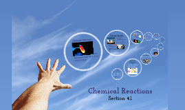 Section 4.1 Chemical Reactions