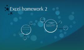 Excel homework 2