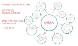 Copy of Behavior Intervention Plan