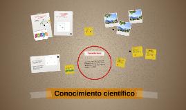 Copy of Conocimiento científico