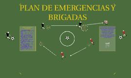 PLAN DE EMERGENCIAS Y BRIGADAS
