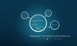 Copy of Integrated Marketing Communications
