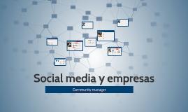 Social media y empresas