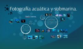 Fotografía acuática y submarina.