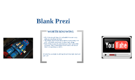 Blank Prezi