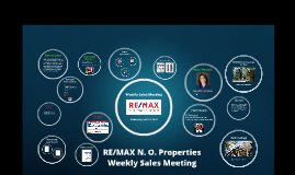 Weekly Sales Meeting, April 10, 2019