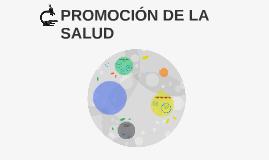 PROMOCIÓN DE LA SALUD