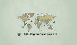 FALLO Nicaragua vs Colombia