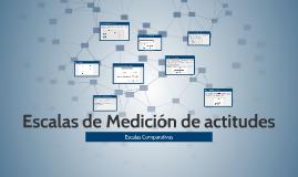 Copy of Escalas de Medición de actitudes