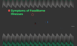 Symptoms of FoodBorne Illnesses