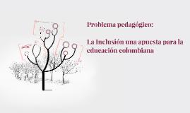 Problema pedagogico: